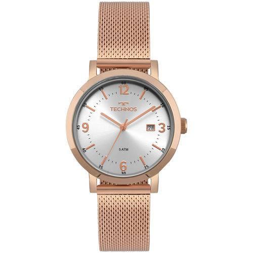 Relógio Technos Feminino Dress Rosé - 2115MPE/4K