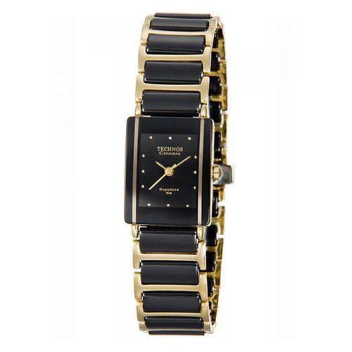 Relógio Technos Feminino Elegance Ceramic Sapphire 5Y30MYPAI/4P