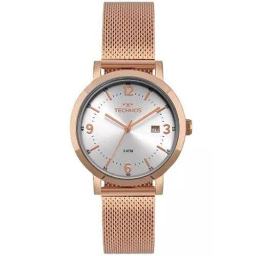 Relógio Technos Feminino Rosê 2115mpe/4k