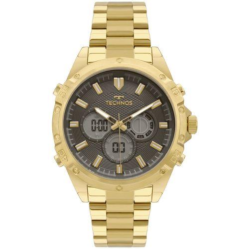 Relógio Technos Masculino Anadigi - BJ3814AB/1P