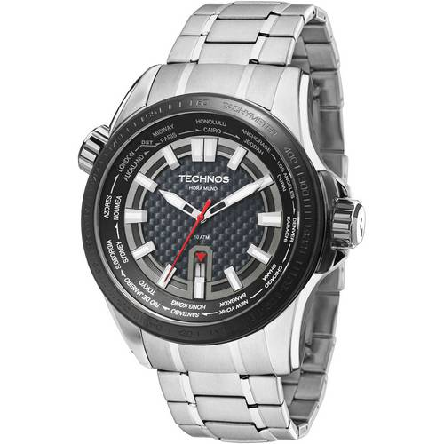 Relógio Technos Masculino Performance Ts Carbon 2115KNU/1K