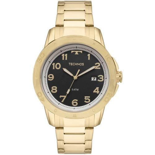 Relógio Technos Masculino Racer Dourado - 2315ack/4p