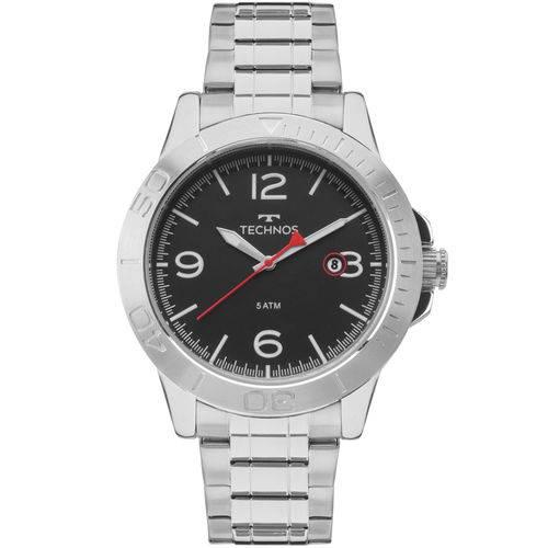 Relógio Technos Masculino Racer Prata - 2315kzo/1p