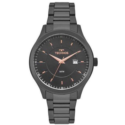 Relógio Technos Masculino Steel - 2115MPQ/4A - Relógio Technos Masculino Steel - 2115MPQ/4A