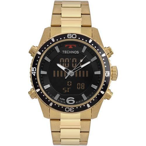 Relógio Technos Masculino Ts Digiana Dourado