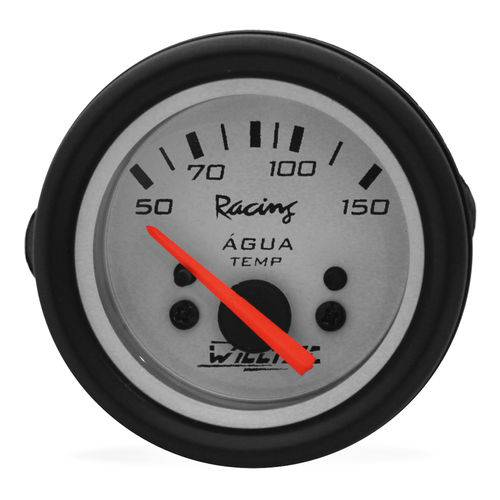 Relógio Termômetro de Água Willtec Branco 50-150 Cº 52mm