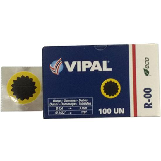 Remendo a Frio R-00 030 MM Caixa com 100 Pecas - R-00 - Vipal