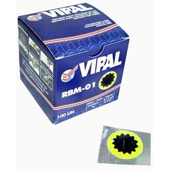 Remendo Tip Top Vipal R-00 30mm Cx C/100 Unidades