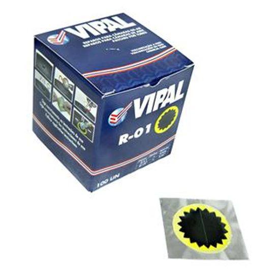 Remendo Tip Top Vipal R-01 40mm Cx C/100 Unidades