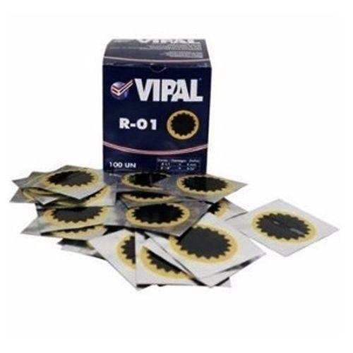 Remendo Vipal Estrela R01 40mm Cx C/100 Unidades