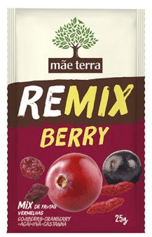 Remix Berry 25g - Mãe Terra