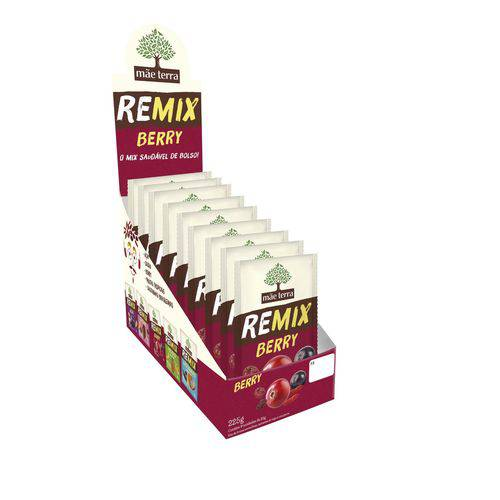 Remix Berry Mãe Terra - Caixa 9x25g