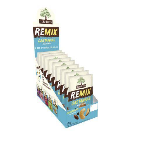 Remix Castanha Mãe Terra Caixa 9x25g