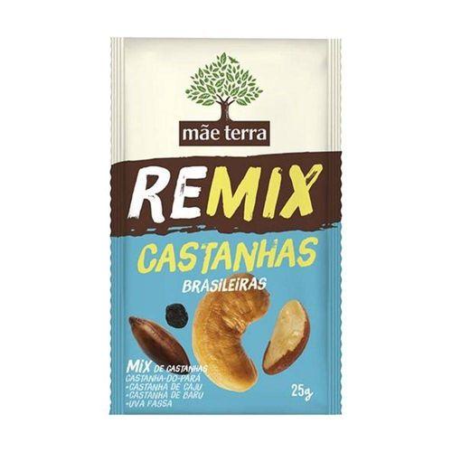 Remix Castanhas Brasileiras Mãe Terra 25g