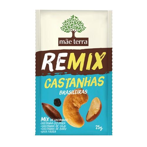 Remix Castanhas Brasileiras Mãe Terra com 25g