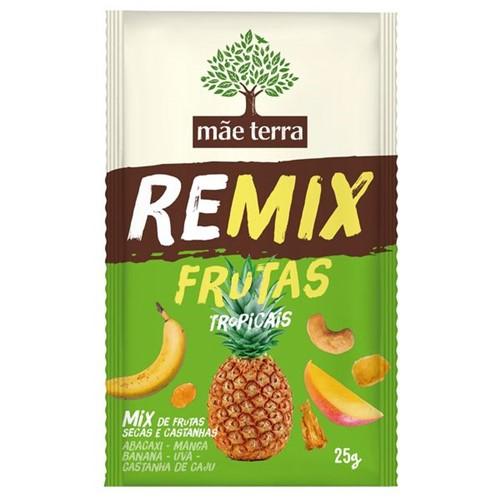 Remix Frutas Mae Terra 25g Frutas Tropicais