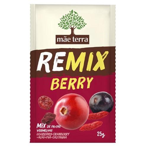Remix Frutas Mae Terra 25g Frutas Vermelhas Berry