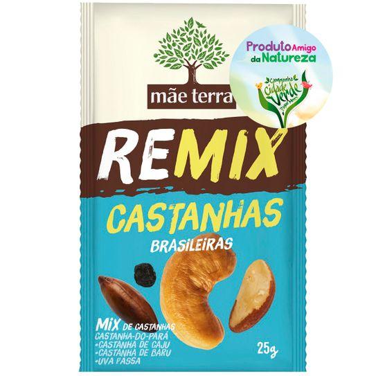 Remix Mãe Terra Mix de Castanhas Brasileiras 25g