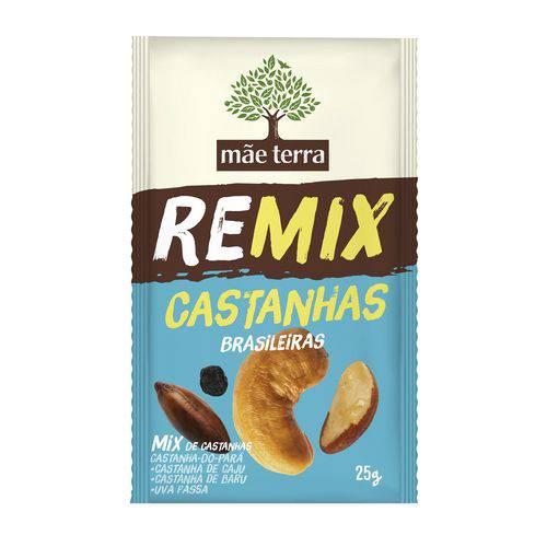 Remix Mix Mãe Terra Castanhas Brasileiras 25g
