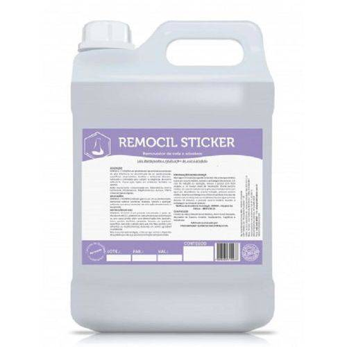 Removedor de Cola Remocil Sticker Limpa Extintores 5lts