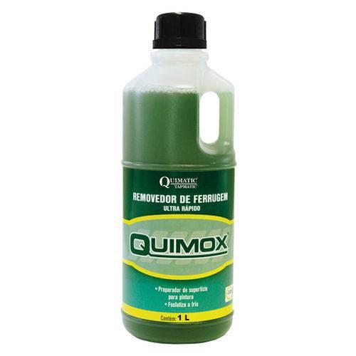 Removedor de Ferrugem Ultrarrápido Quimox - 1 Litro