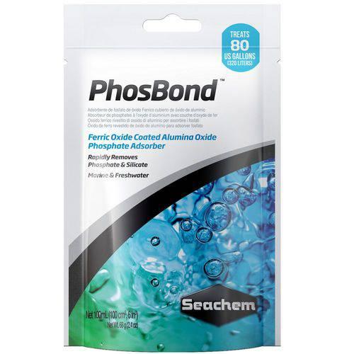 Removedor de Fosfato e Silicato Seachem Phosbond 100ml