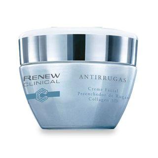 Renew Clinical Antirrugas Creme Facial Preenchedor de Rugas Collagen 3D 30g