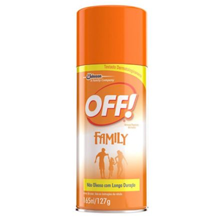 Repelente Familiy Aerosol Off 165ml
