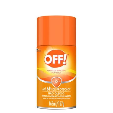 Repelente OFF! Family Aerossol 165ml