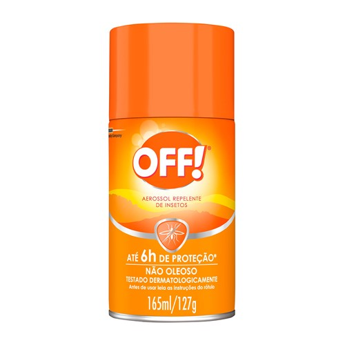 Repelente Off! Family Aerossol com 165ml