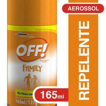 Repelente Off! Johncenter Family Aerossol 165ml