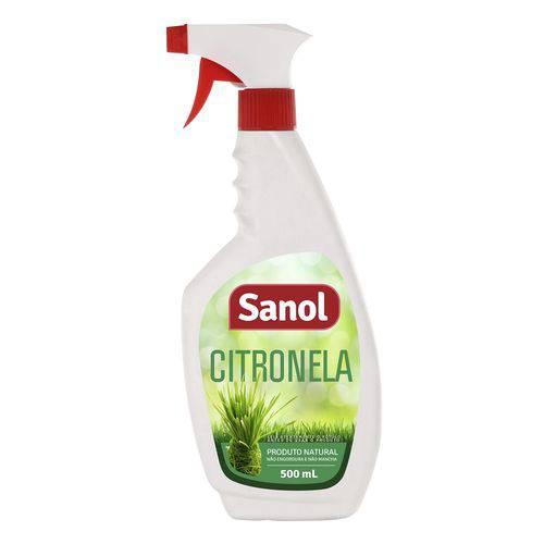 Repelente Sanol Spray Citronela 500ml