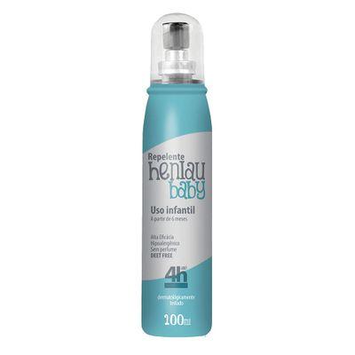 Repelente Sunlau Altamente Eficaz, Sem Cheiro e não Tóxico Contra Insetos para Bebês de 100 Ml Spray Henlau