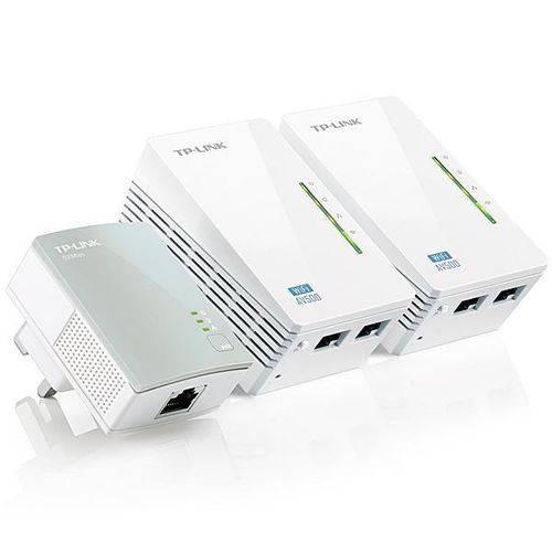 Repetidor de Sinal TPLink AV600 PowerlineTLWPA4220T KIT