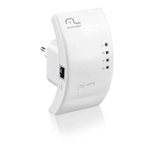 Repetidor de Sinal Wireless Multilaser 300mbps Wps - Re051