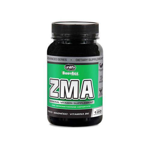 Repositor Muscular 600mg Zma - Unilife - 120 Capsulas