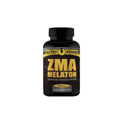 Repositor Muscular Zma Melaton Nutry Power Apisnutri - 120 Cápsulas