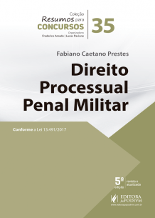Resumos para Concursos - V.35 - Direito Processual Penal Militar (2018)
