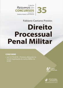 Resumos para Concursos - V.35 - Direito Processual Penal Militar (2019)