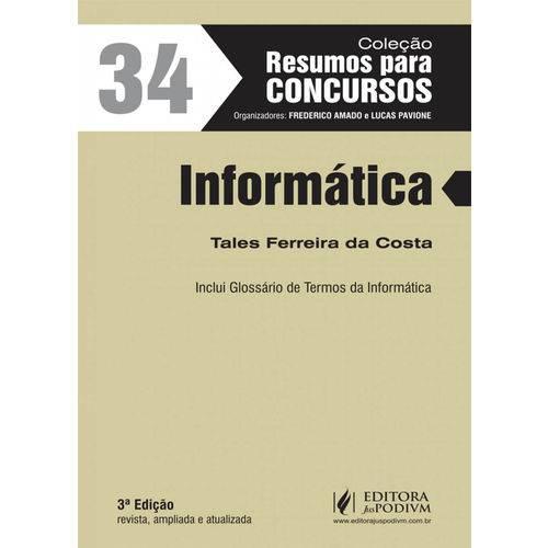 Resumos para Concursos - Volume 34 - Informática (2017)
