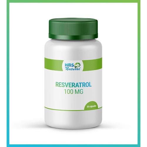Resveratrol 100mg Cápsulas Vegan 30cápsulas