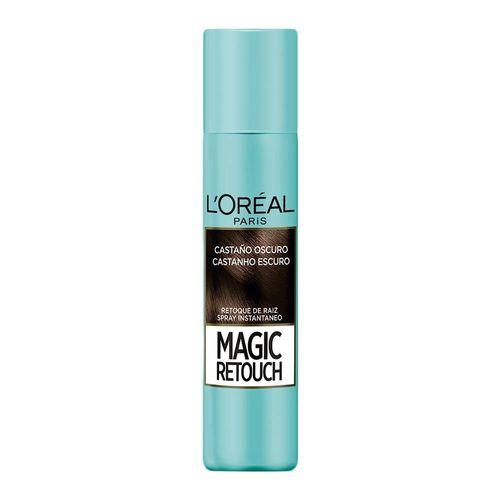 Retoque de Raiz L'Oréal Magic Retouch Castanho Escuro Spray 75ml