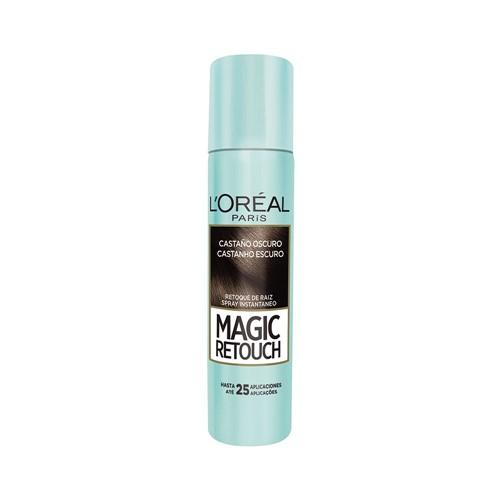 Retoque de Raiz Spray L'oreal Magic Retouch Castanho Escuro 75ml