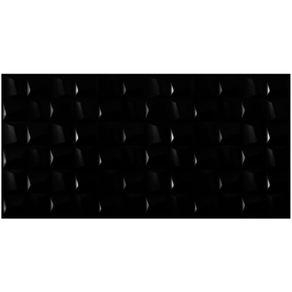 "Revestimento ""A"" 45X90 Cubic Black Acetinado Eliane"