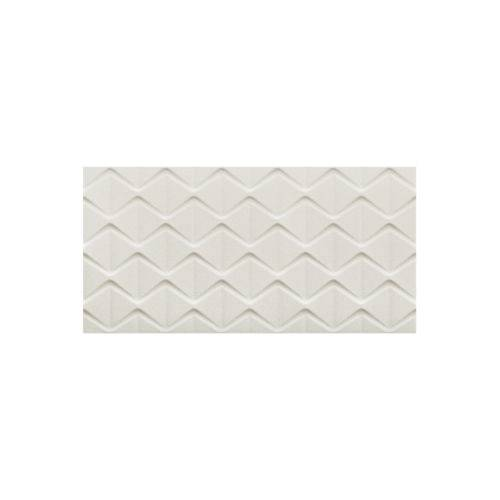 Revestimento Retificado Acetinado Cartier Pérola 45x90cm com 2 Peças Branco