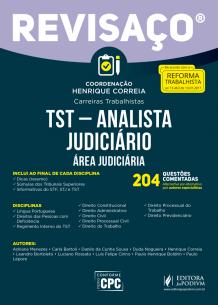 Revisaço - TST - Analista Judiciário - 204 Questões Comentadas, Alternativa por Alternativa (2017)
