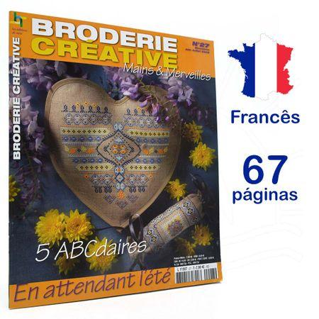 Revista Broderie Creative - Mains & Merveilles Nº 27 - En Atttendant L´eté