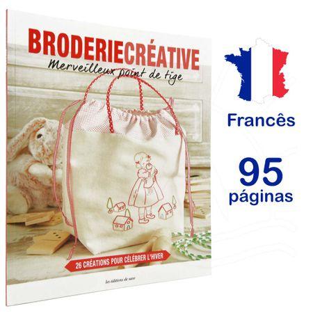 Revista Broderie Creative - Merveilleux Point de Tige (Maravilhoso Ponto Haste)
