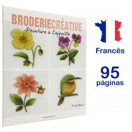 Revista Broderie Creative Nº 78 - Peinture à L'aiguille (Pintura de Agulha)
