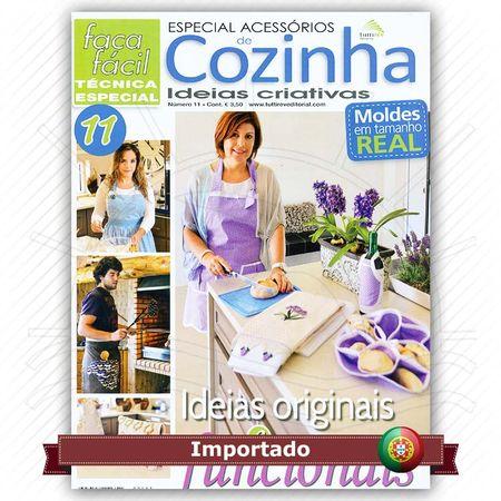 Revista Faça Fácil Especial Acessórios de Cozinha Nº11
